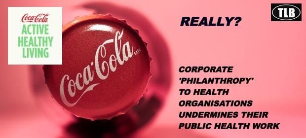 Coca-Cola & Pepsi sponsored about 100 health orgs in 5yrs