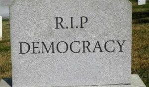democracy-headstone