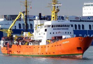NGOAquariusboat
