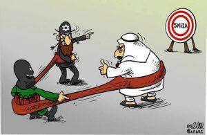 IsraelSaudicartoonterrorist