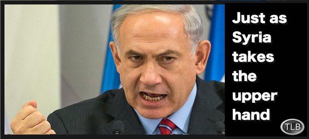 NetanyahufistSyria12