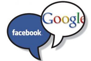 FacebookGooglespeechbubbles