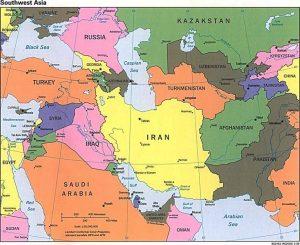 SouthWestAsiamap