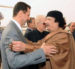 assad-gaddafi