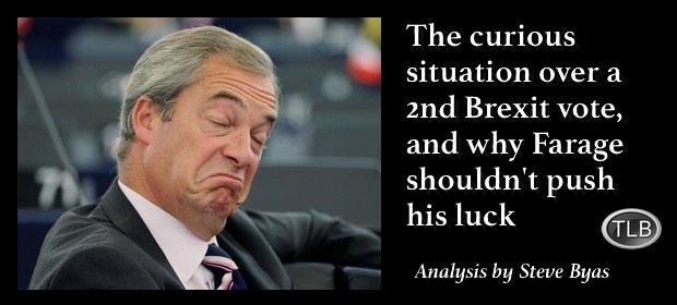 Farage2ndBrexitvote