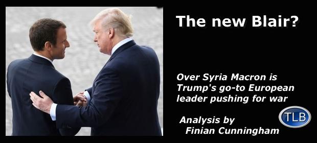 MacronTrumpSyria