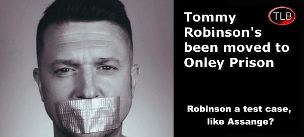 TommyRobinsonarrestedOnley
