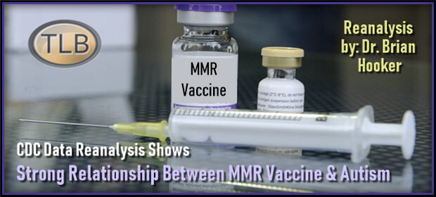 Vaccines Brian Hooker Does Re >> Cdc Data Re Analysis Shows Strong Relationship Between Mmr Vaccine
